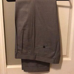 Ralph Lauren Pants - NWT Grey Ralph Lauren pleated dress pants